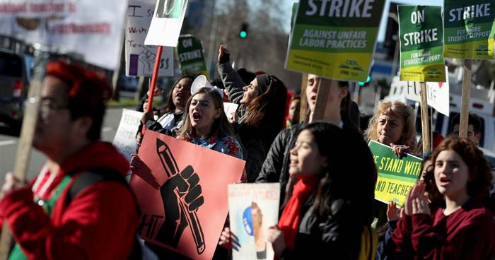 No end in sight for teachers strike